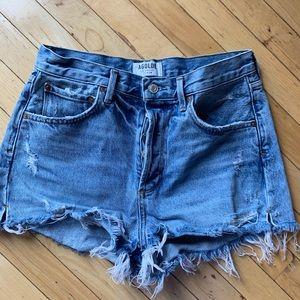 Agolde Shorts - Agolde jaden high rise short size 28